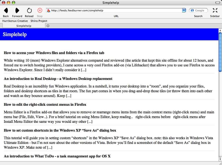 latest version of firefox for mac os x 10.3.9