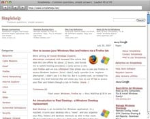 minibrowser