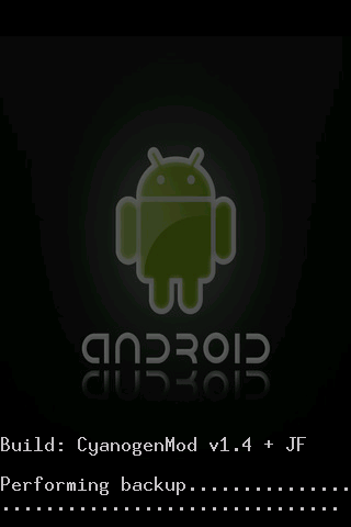 How to install CyanogenMod 4 1 99 on your G1 Android Phone