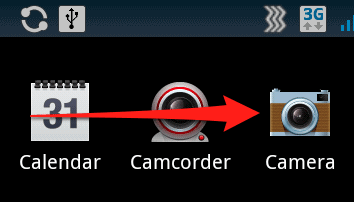 android camera icon