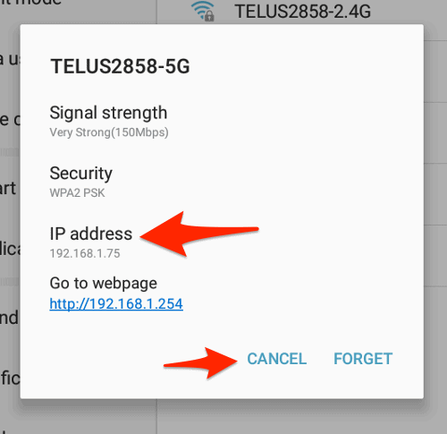 How to lookup public ip address