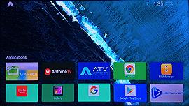 atv launcher home screen