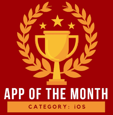 simplehelp iOS app of the month logo