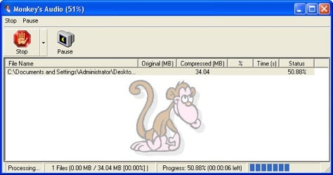 convert ape to mp3