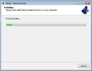 Azureus Vuze bittorrent client windows
