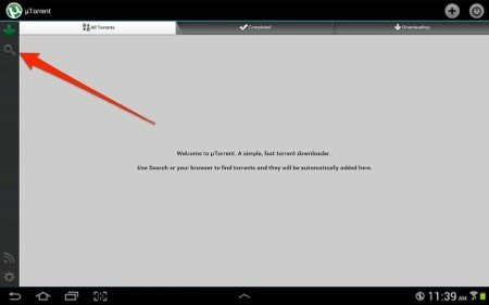how to open torrented files on android