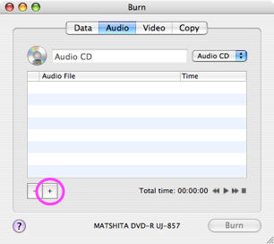 record audio cds from shn files using burn