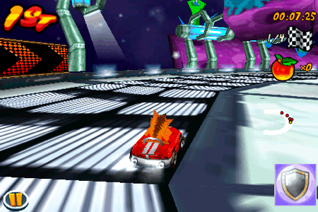 crash bandicoot nitro kart 3d for the iphone and ipod touch second level