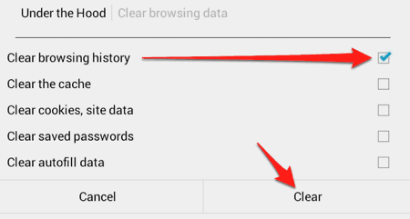 How to Clear the Browsing History of Google Chrome for Android