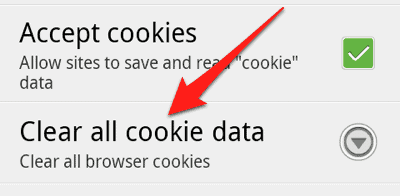 How to Clear Cache Cookies and History on Android Phone