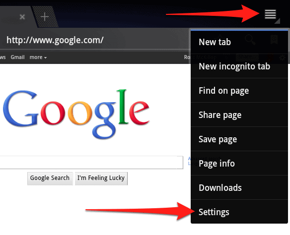 Incredible How To Clear The Browsing History On Your Android Tablet Beutiful Home Inspiration Semekurdistantinfo