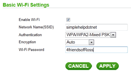 how to clear password on memorial for wifi