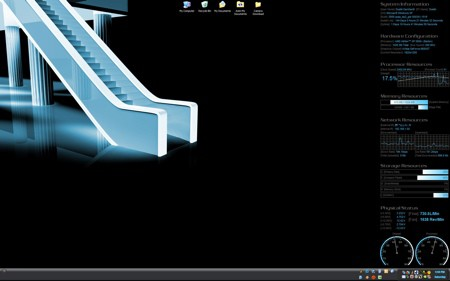 CoolMon 2 desktop by Dustin Earnhardt