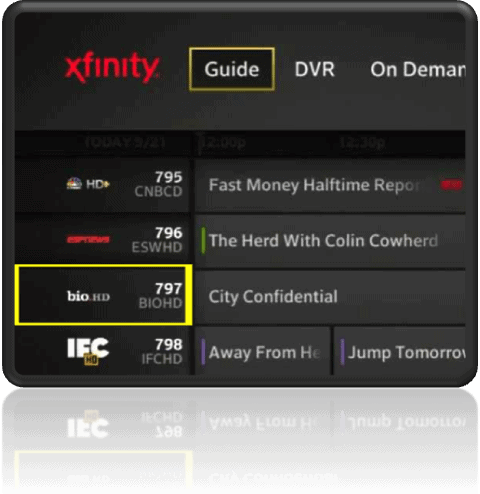 How To Record A Channel At A Specific Time And Date With The Comcast X1