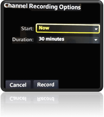 How To Record A Channel At A Specific Time And Date With The
