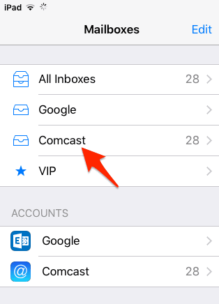 comcast email not working on iphone how to setup comcast email on your iphone or simple 18348