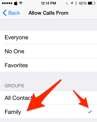 How to Keep Your iPhone Silent Except for Specific Contacts