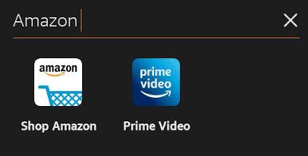the naming screen for a collection of apps on the amazon fire