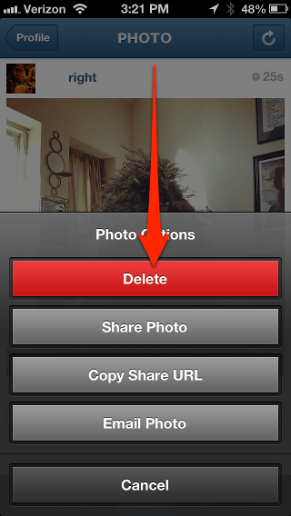 instagram how to delete suggested