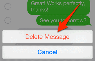 how to delete text messages on iphone 5 how to delete individual sms messages from your iphone 20793