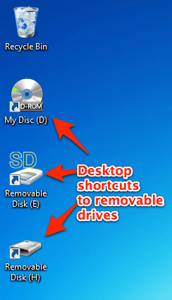 how to add google drive shortcut to desktop