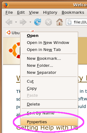firefox bookmarks toolbar