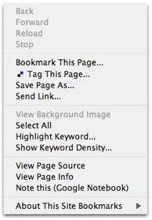 firefix right-click menu before changes