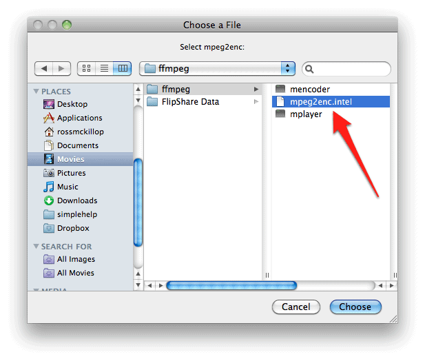 How to convert  MOV files to  MP4 in OS X