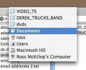OS X Finder tip