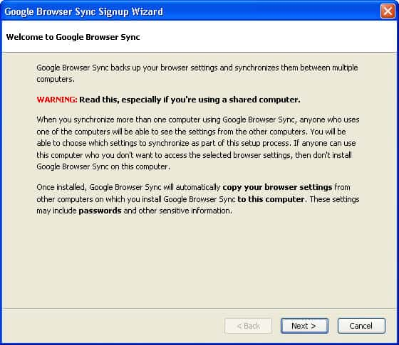 How to sync your bookmarks, history, saved passwords and