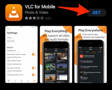 VLC on the iTunes App Store