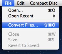 convert mp3 to flac on a mac