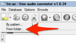 How to convert  flac files to  mp3 using Windows