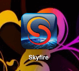 skyfire ipad dashboard icon