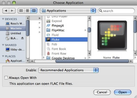How to play  flac files in iTunes