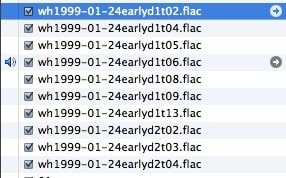 flac files playing in itunes