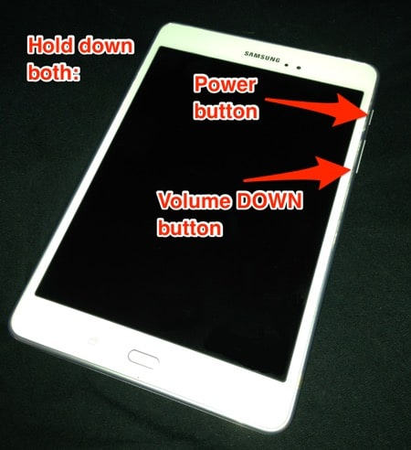 Android device being forced to powered off