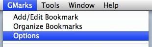 gmarks options