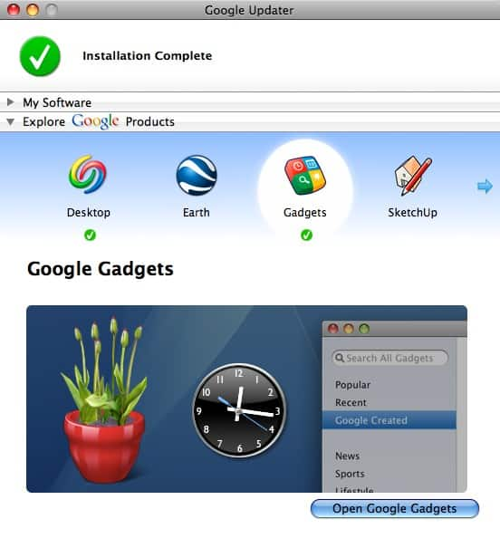 How To Run Google Gadgets In Your OS X Dashboard