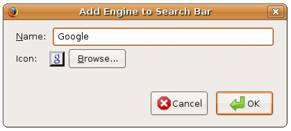 adding new google icon to the firefox search bar