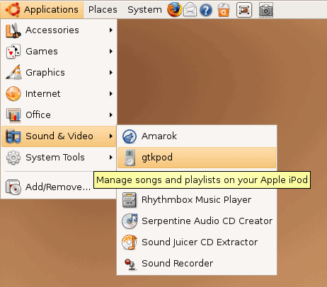 How To Use Gtkpod To Manage Your Ipod In Ubuntu
