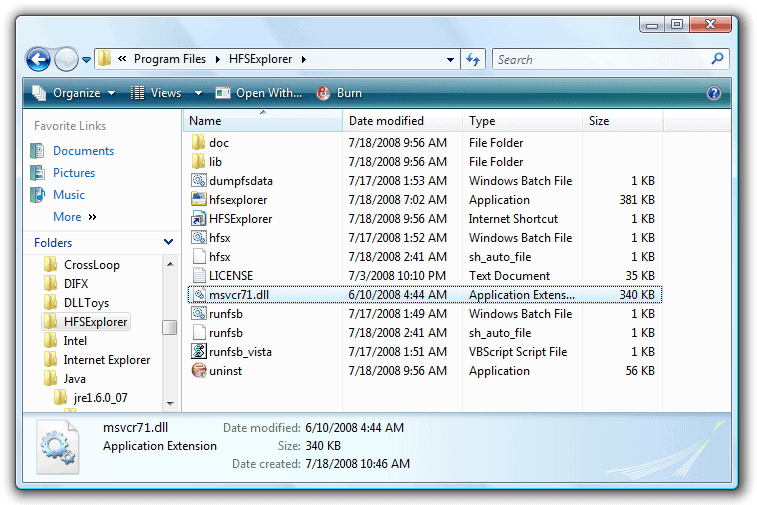 hfsexplorer windows 7