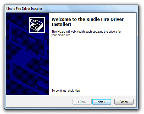 Kindle Fire Driver Software For Windows Vista