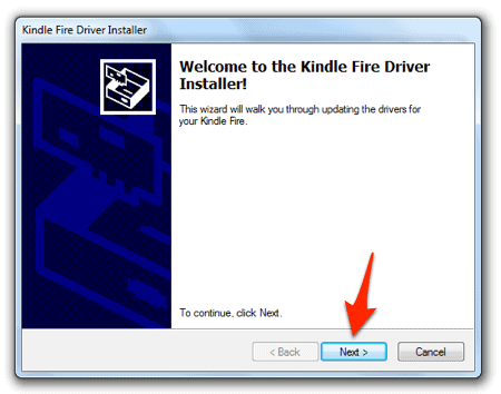 How to install Kindle Fire adb USB driver