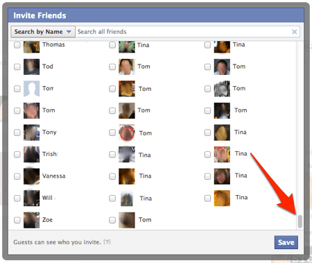How To Invite All Of Your Facebook Friends To An Event In One Step