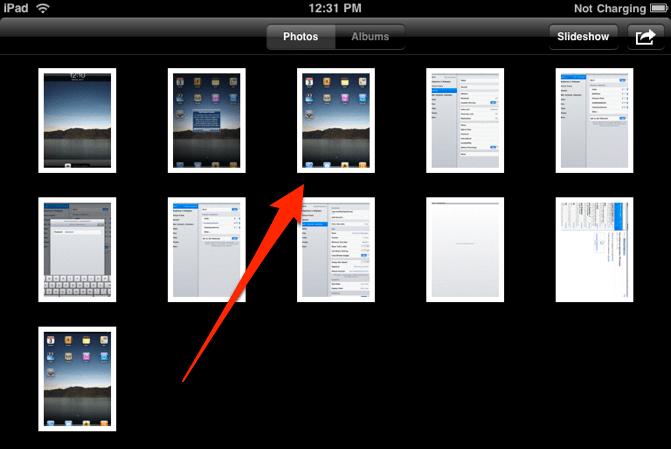 How to take a screenshot of your ipad or ipad mini simple help