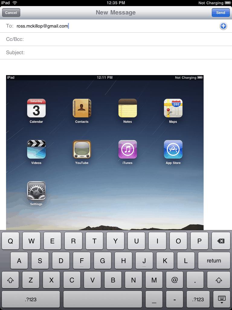 how to take screenshot on ipad 2017