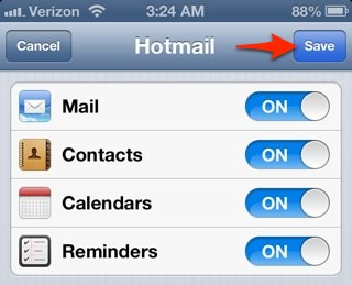 how to set up webmail on ipad