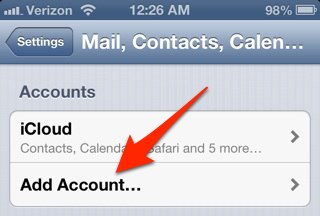 how to set up hotmail on iphone how to set up your email account on your iphone or 20316