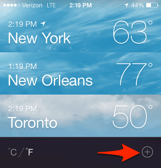 How To Delete Cities From Weather Iphone 5s